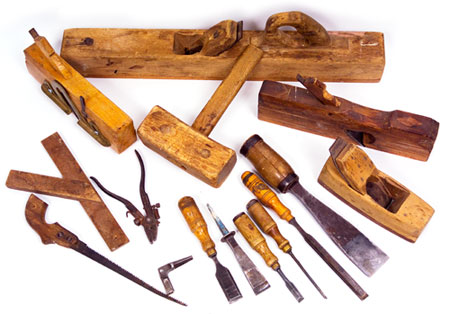 Tools of carpenter