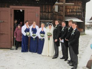 An Irish wedding in Velké Karlovice